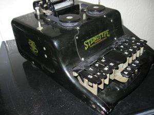 Antique Court Reporting Machine