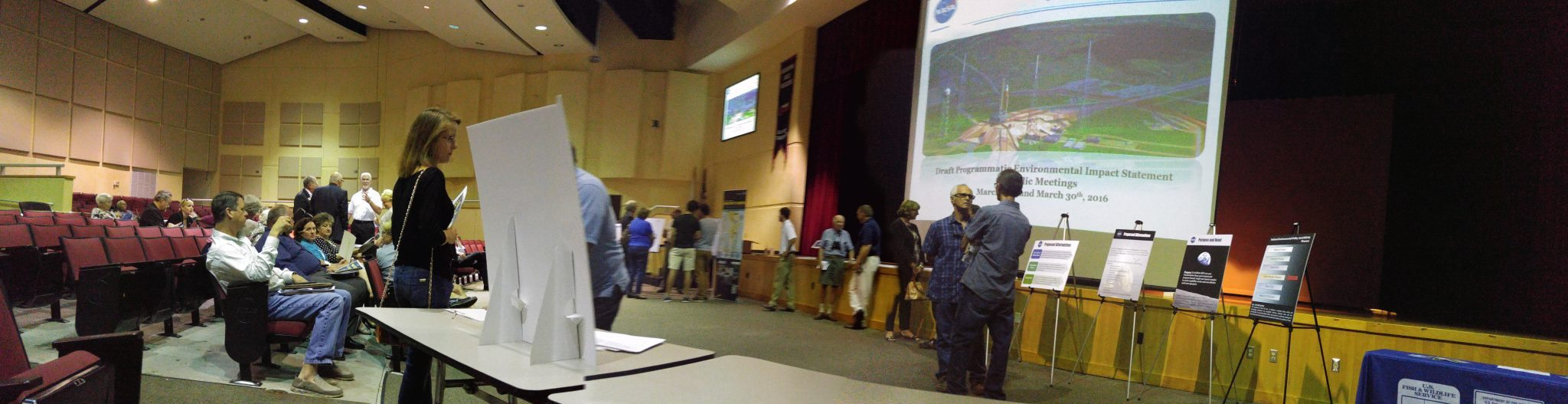 Kennedy Space Center Environmental Impact Public Meeting