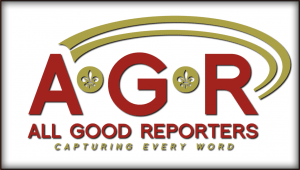 All Good Reporters Logo